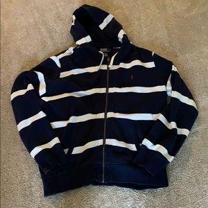 Polo by Ralph Lauren zipup hooded sweatshirt